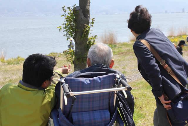 写真:諏訪湖