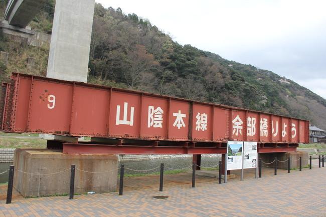 写真:横から見た鉄橋