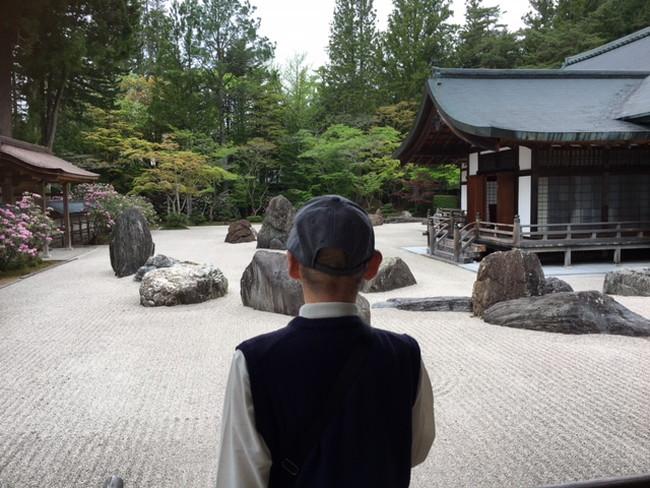 写真:高野山でのお客様
