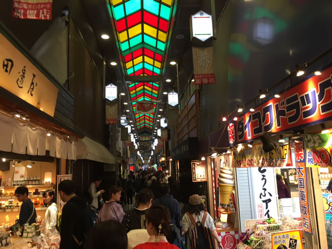 写真:錦市場