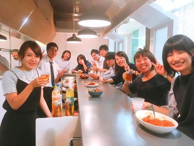 写真:三宮ソーシャルキッチンでのイベント