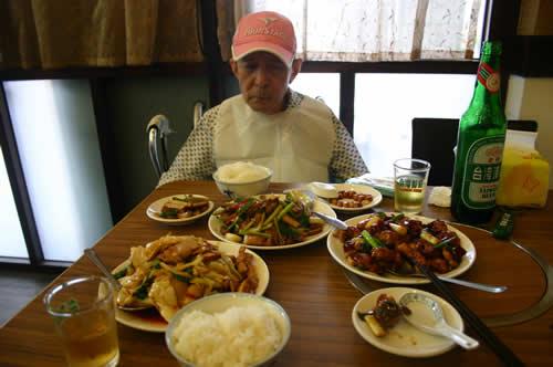 写真:台湾料理をおいしく召し上がりました