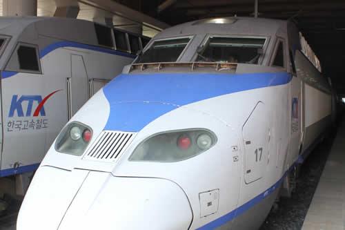 写真:高速鉄道KTX