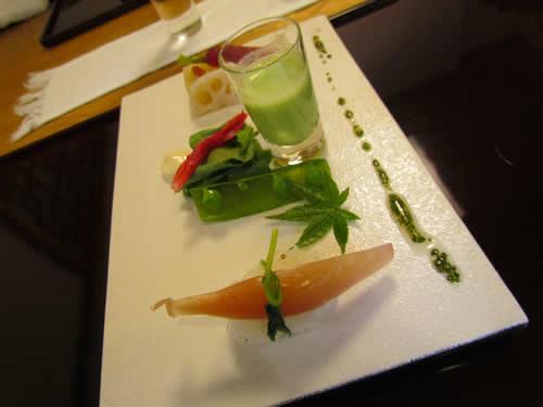 写真:精進料理の一皿
