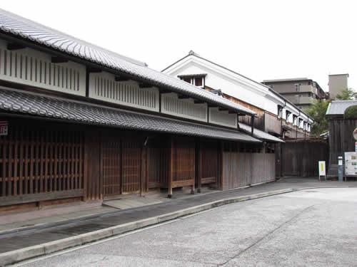 写真:伏見桃山エリアの街並み