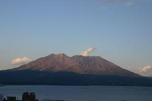 写真:桜島風景